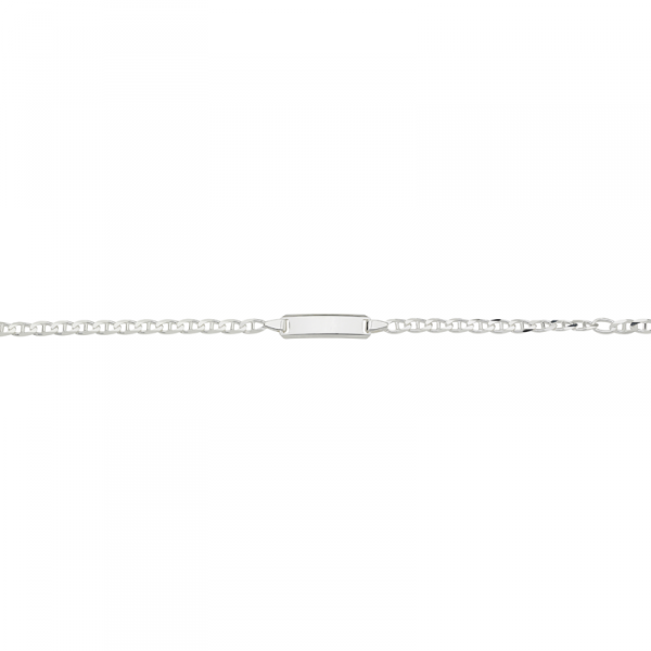 ID Armband in 925´er Sterling Silber mit einem hervorragendem Design
