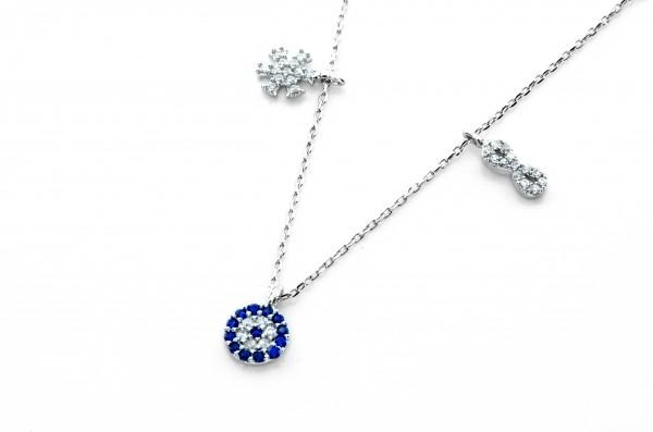 Infinity Unendlich Halskette 50002