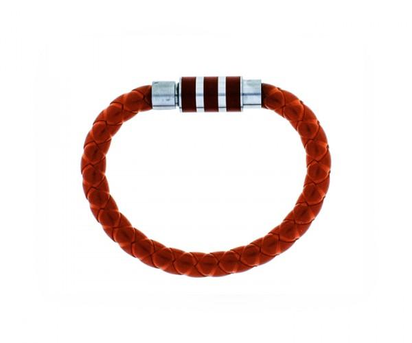 Kautschukband rot mit Stahlverschluss 17 cm