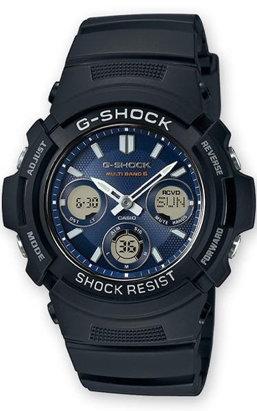 Casio G-SHOCK Funk- und Solaruhr AWG-M100SB-2AER