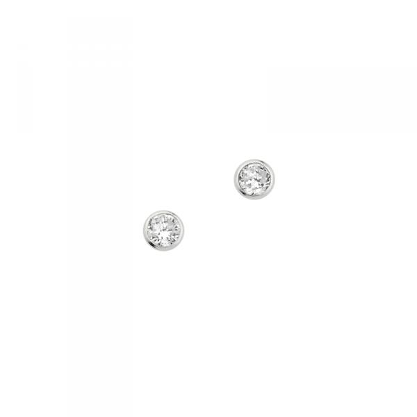 Ohrstecker in 925´er Sterling Silber in wunderbarem zustand
