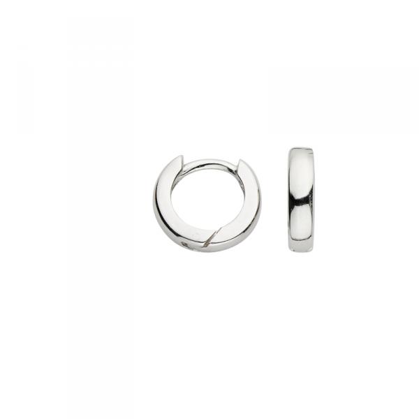 Creole in 925´er Sterling Silber in klein gehaltenem Design